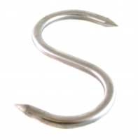 Крюк S образный из нержавеющей стали