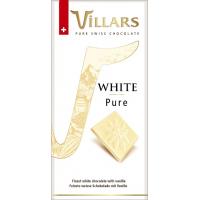 Швейцарский белый шоколад Villars с ванилью