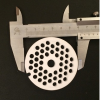 Самозатачивающийся набор для мясорубки Kenwood, Bosch, Zelmer, Bork (Д-61,5мм + нож серп. 10мм)