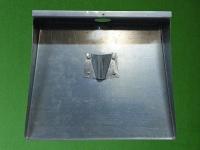 Лопата металлическая 3-х бортная для уборки снега