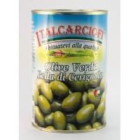 Оливки ЗЕЛЕНЫЕ ГИГАНТ 3 G Белла ди Чериньола (Olive verdi Bella di Cerignola)