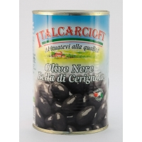 Оливки ЧЕРНЫЕ ГИГАНТ 3 G Белла ди Чериньола (Olive verdi Bella di Cerignola)