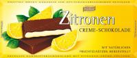 Тёмный шоколад Böhme с лимонной начинкой 62 %