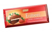Тёмный шоколад Böhme с клубничной начинкой 62 %