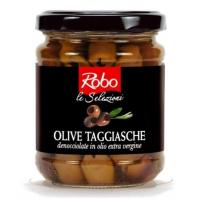 Маслины ТАДЖАСКИ без косточки в ол.масле (Olive Taggiasche denocc. in olio)