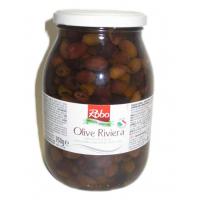 Маслины РИВЬЕРА без косточки в оливковом масле 39% (Olive RIVIERA denocc. in olio E/V 39%)