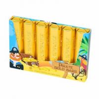 Молочный шоколад «Пиратские золотые слитки»