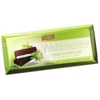 Тёмный шоколад böhme Waldmeister с начинкой со вкусом ясменника душистого 62%